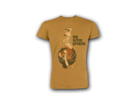 "The Intersphere T-Shirt ""Relations In The Unseen – brown"" Man"