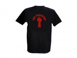 "Woolheads T-Shirt ""No Pasaran – red"" Man"