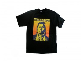 "Yawning Man T-Shirt ""Indian"""