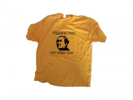 "Yawning Man T-Shirt ""Yellow"""