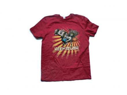 """Keep It Low Festival Shirt """"Red"""" Man"""