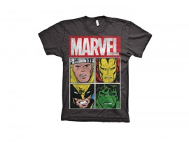 "Marvel Shirt ""Characters"" Unisex"