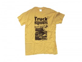 "TRUCKFIGHTERS T-Shirt ""Desert Cruiser"" yellow"