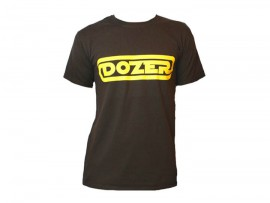 "Dozer T-Shirt ""Logo brown"" Man"