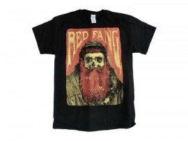 "Red Fang T-Shirt ""Rusty Beard"" Man"