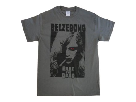 "Belzebong T-Shirt ""Woman grey"" Man"