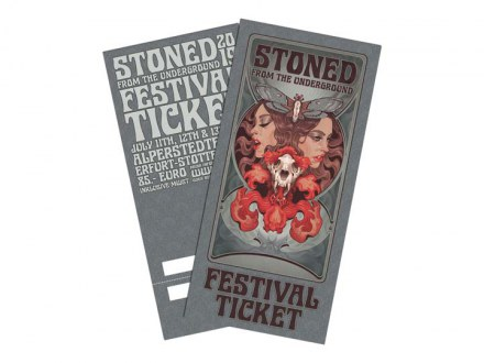 "Stoned From The Underground Ticket ""Weekend Ticket 2019"""