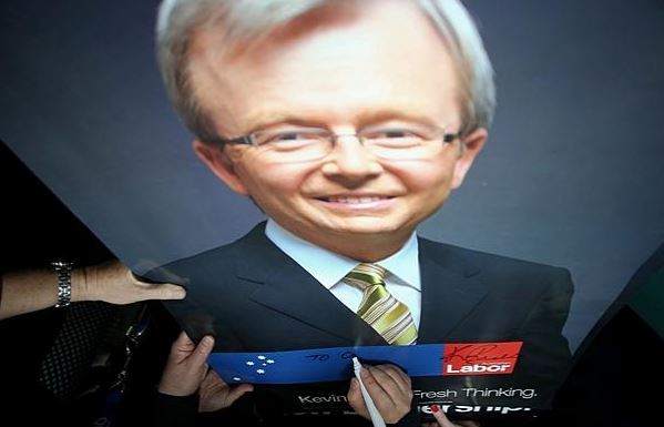 Slowly Recovering From Kevin Rudd Woolly Days