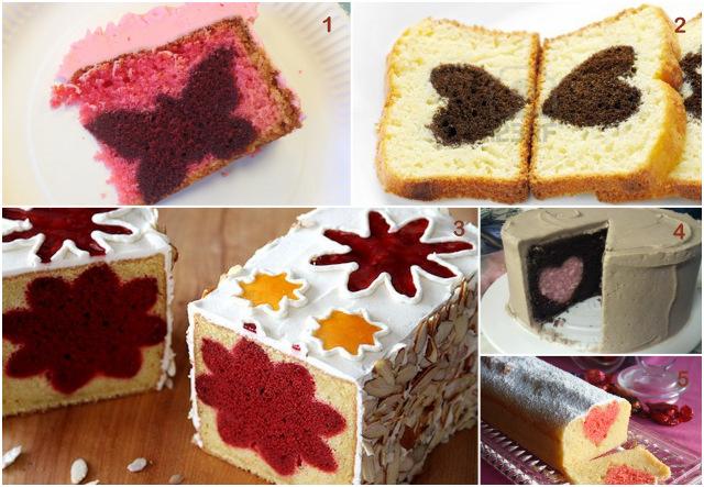 Gateau Cake Avec Une Surprise  Linterieur