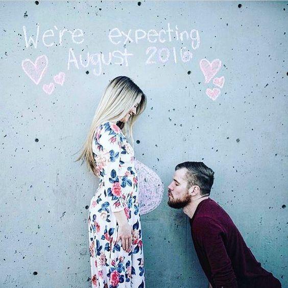 22 Idées pour annoncer une grossesse