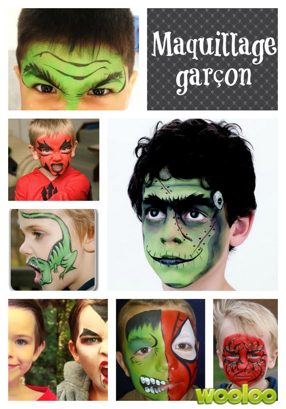 idees de maquillage d halloween