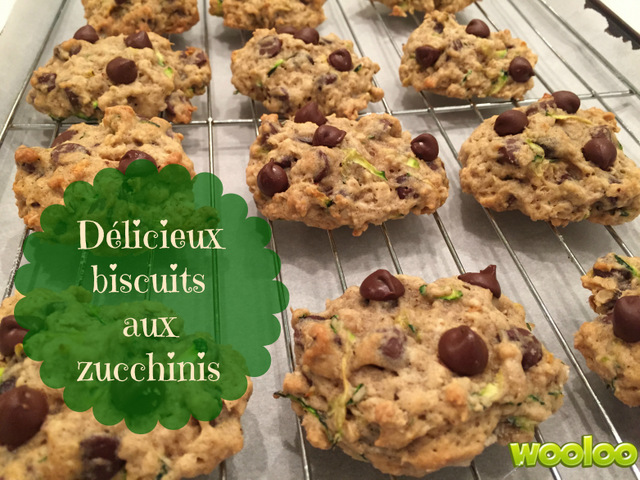 biscuits aux zucchinis wooloo