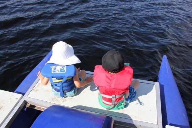 Lac Monroe au Parc national de Mont-Tremblant Wooloo