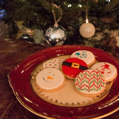 Biscuits de Noël, sans allergènes!