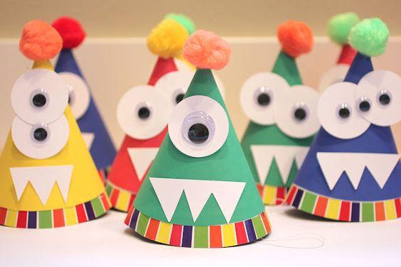 fête d'enfants de monstre