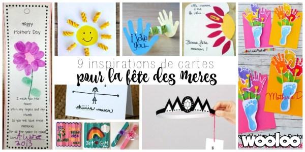 Quelques idées de cartes pour la fête des mères