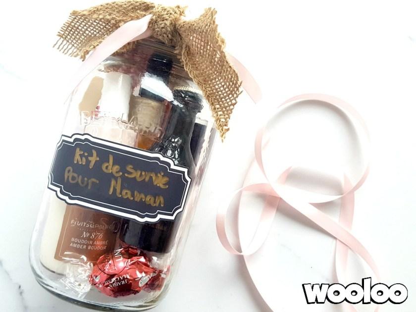 kit de survie pour maman dans un pot wooloo