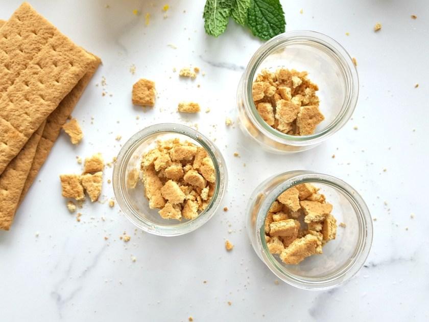 Verrines de tarte au citron & Mubbles à saveur de bleuet wooloo