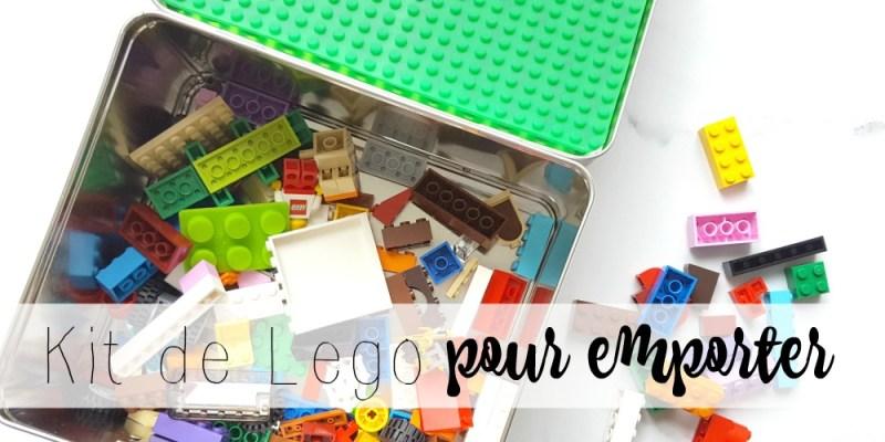 ta boite de Lego pour emporter