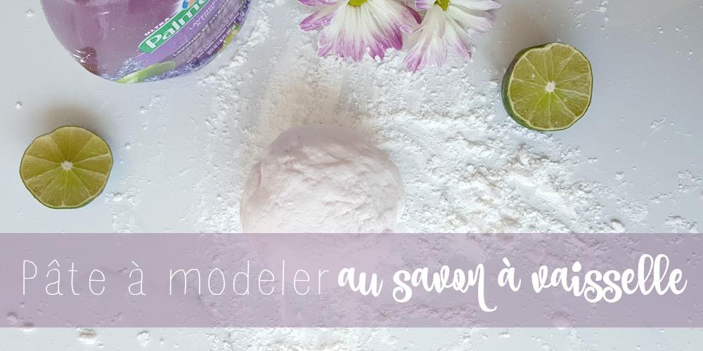 Pâte à modeler douce et propre au savon à vaisselle