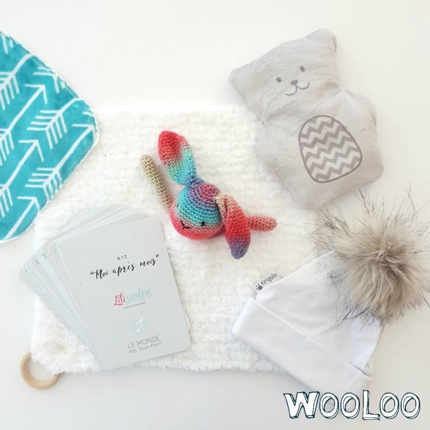 Idées cadeaux pour nouveau-né faits au Québec / wooloo