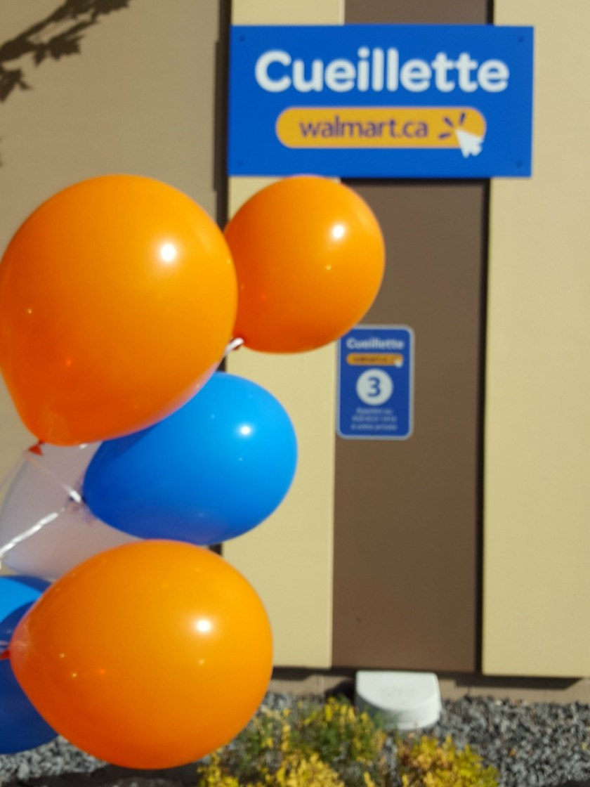 cueillette d'épicerie Walmart / wooloo