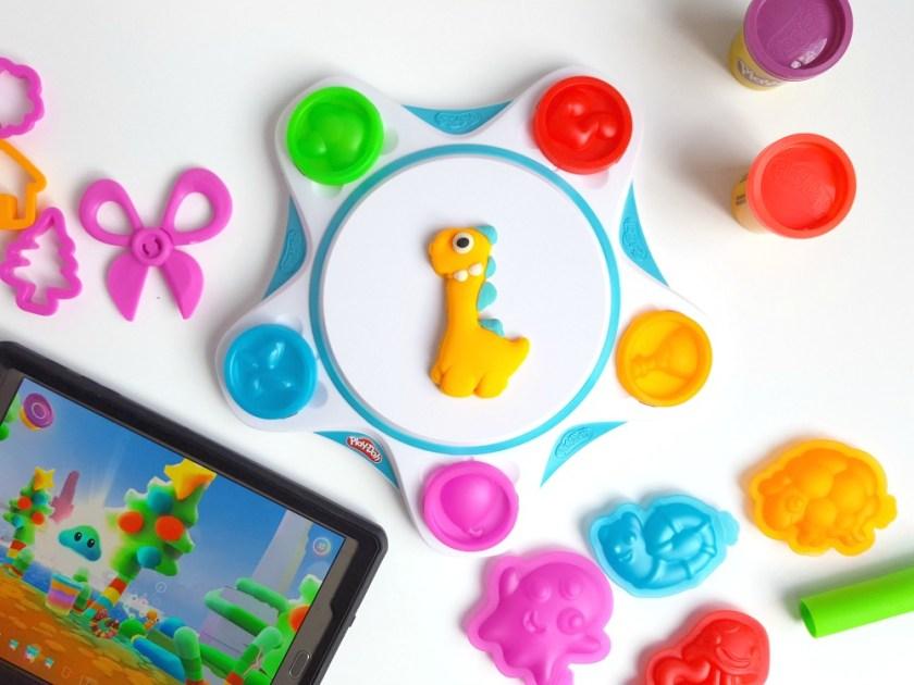 Studio de créations animées Play-Doh Touch / wooloo