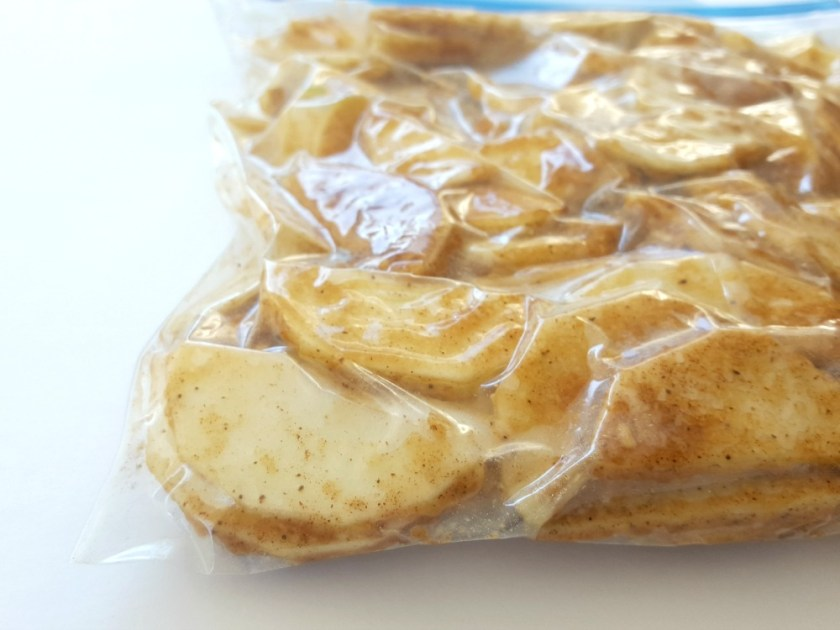 garniture à tarte aux pommes à congeler / wooloo