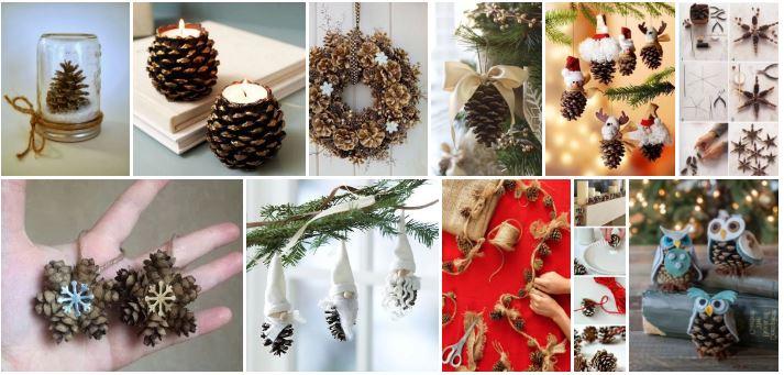 Les 15 plus belles inspirations de bricolages de Noël avec des cocottes