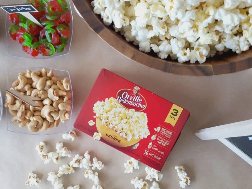 Bar à popcorn / wooloo