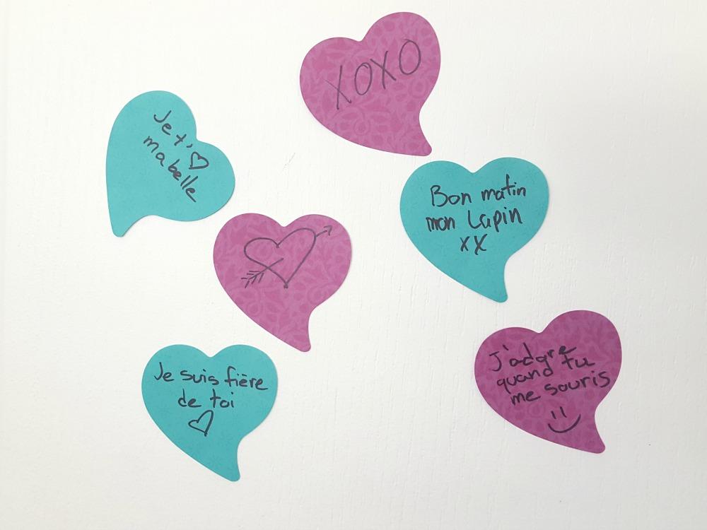 Porte de mots doux pour la St-Valentin