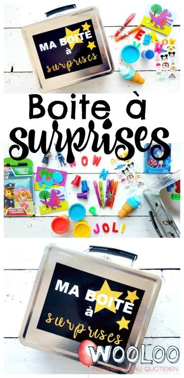 boite à surprises / wooloo