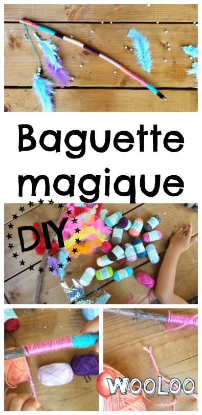 Fabriquer une Baguette magique wooloo