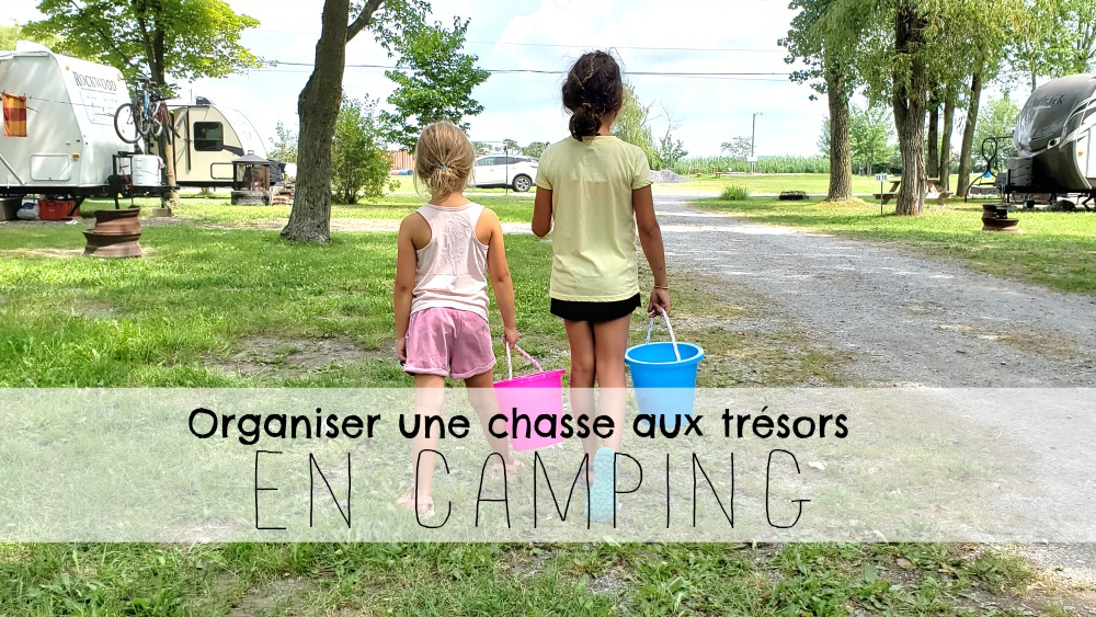 Organiser une super chasse aux trésors en camping