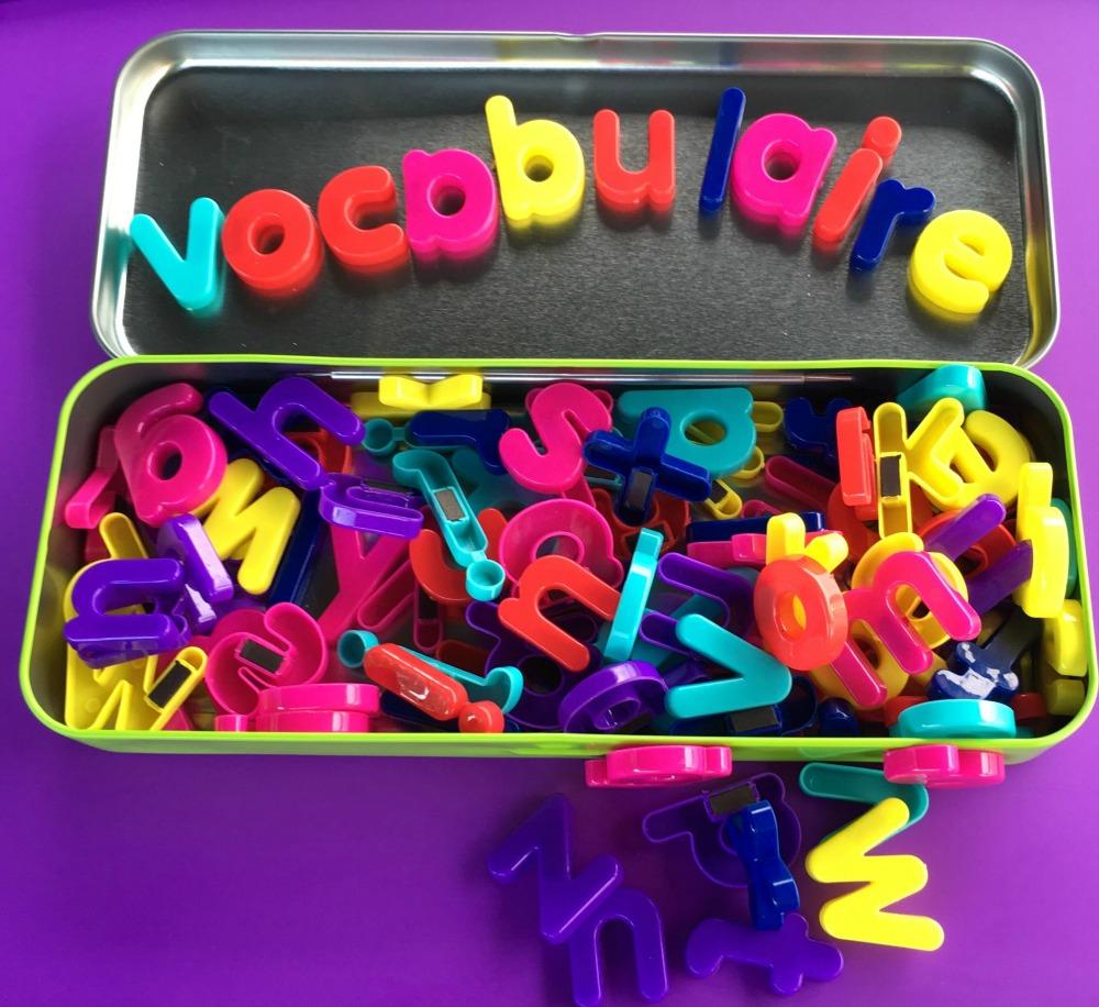 Trucs d'une maman/prof pour réviser les mots de vocabulaire
