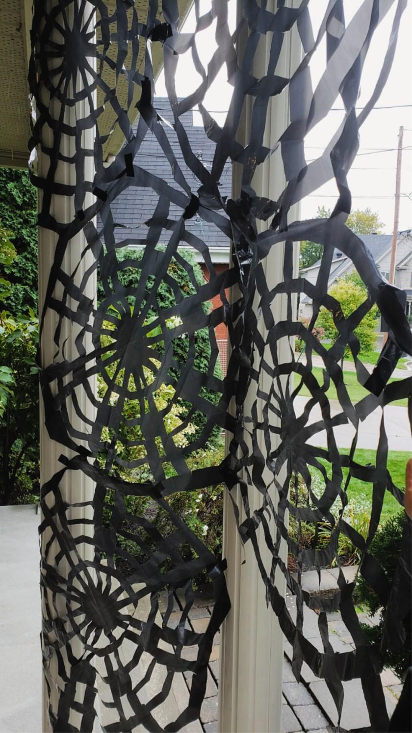 Toiles d'araignées géantes DIY wooloo