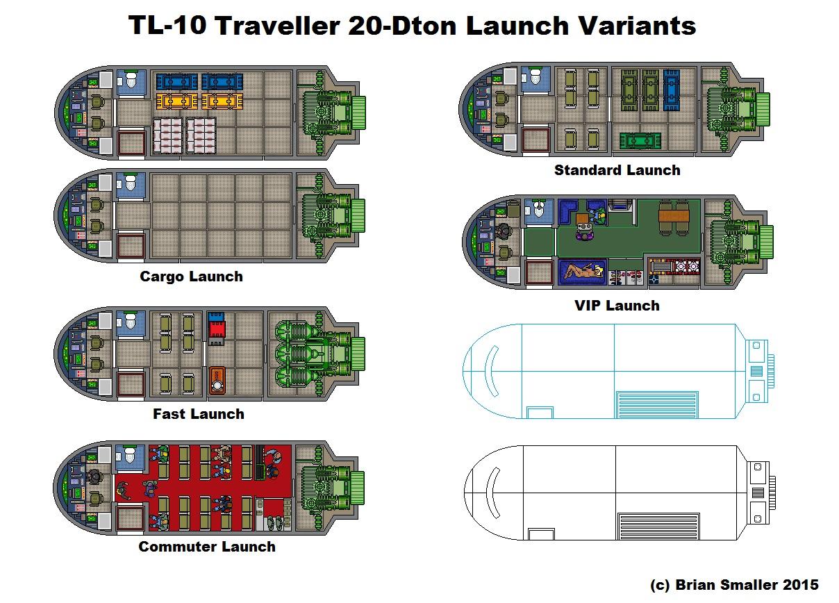 Senator S Shuttle Resized Traveller Rpg Launch By