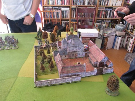 The fantastic Hougemont model.