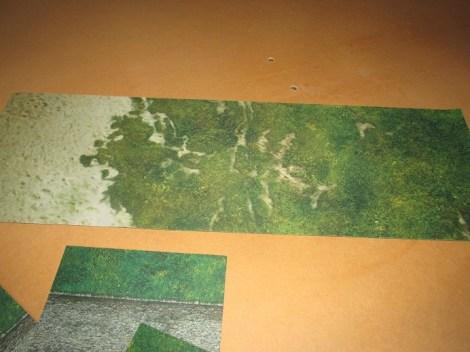 Sample mat laid flat.