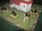 Some East Riding Miniatures Monks based with Perry Carlist War monks