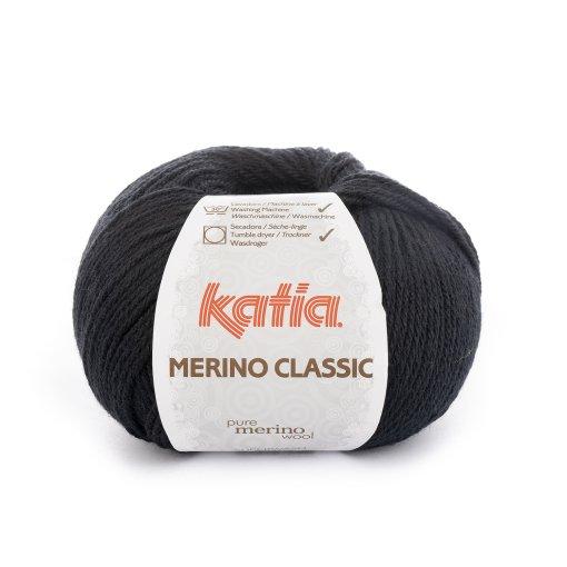 Merino Classic 02 Zwart