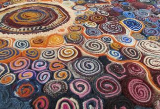 Rag rugs with a difference