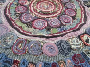 Rag rugs with a difference, 2