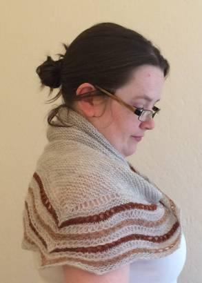 Kelpie-ish shawl