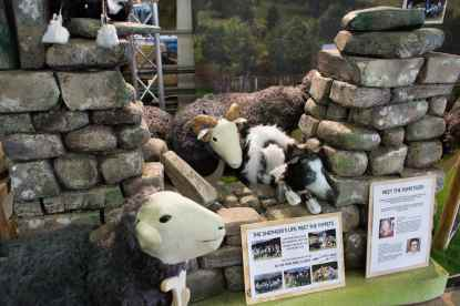 incredible puppets from Shepherd's Life play