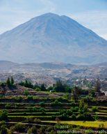 El Misti Volcano - 19,101 feet, last eruption was 1984