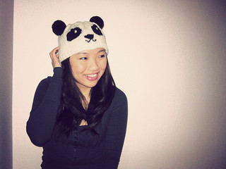 http://www.ravelry.com/patterns/library/knitted-panda-hat