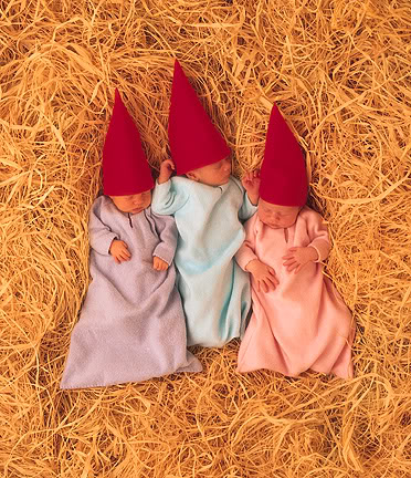 anne geddes babies14 Babies Come as Three Angels by Anne Geddes