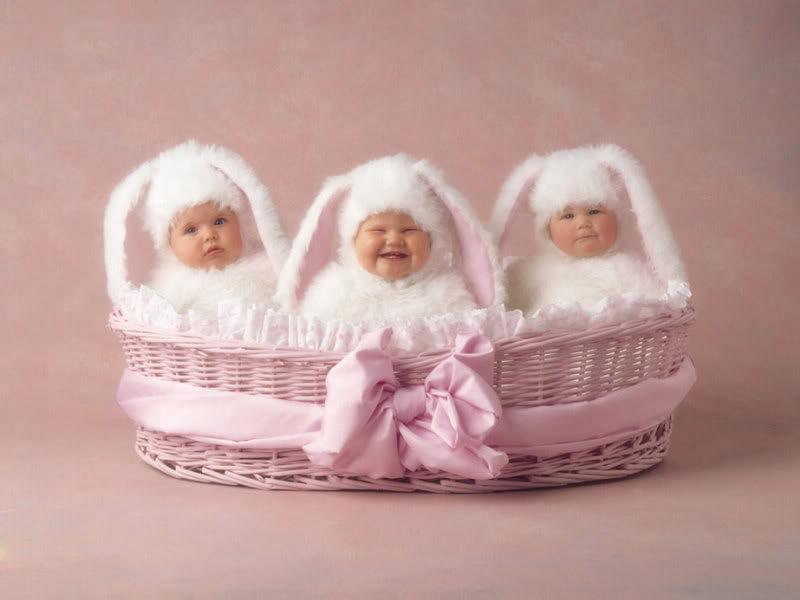 anne geddes babies7 Babies Come as Three Angels by Anne Geddes