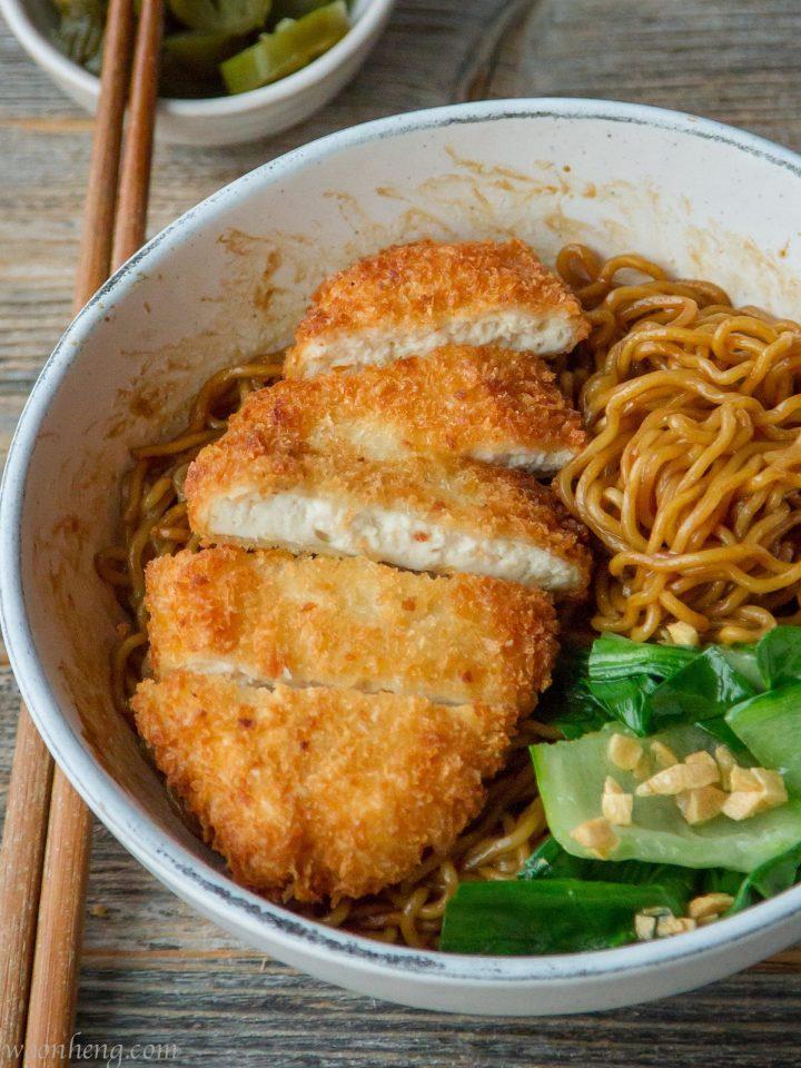 Tofu-Katsu-Noodle-Bowl
